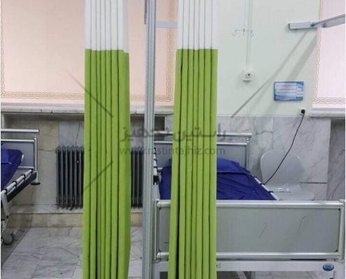 پرده آنتی باکتریال | پرده بیمارستانی تولید شده توسط شرکت راستین تجهیز