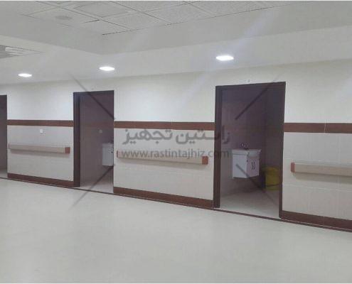 ضربه گیر دیوار بیمارستانی تولید شده توسط شرکت راستین تجهیز