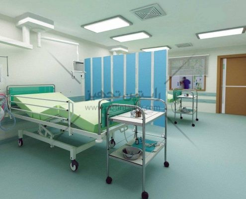 پاراوان بیمارستانی ساخت ایران