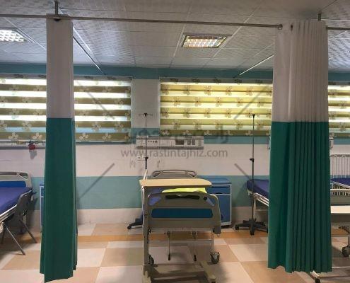 پرده آنتی باکتریال | پرده بیمارستانی ساخت ایران